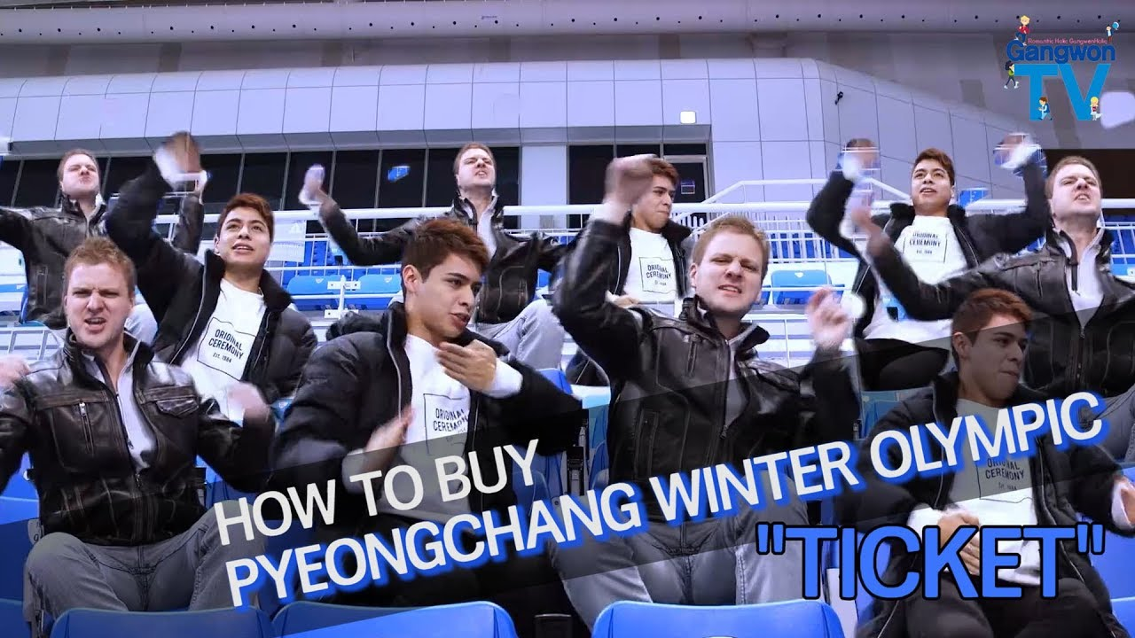 How to buy Olympic Winter Games PyeongChang2018