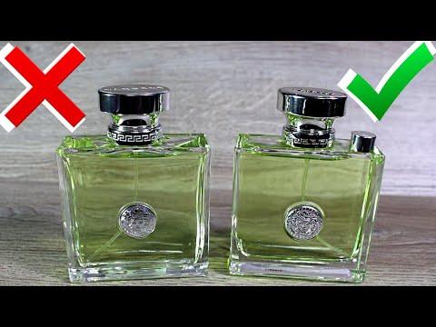 Versace Versense как отличить оригинал от подделки