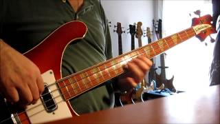 Paul McCartney & Wings Band   - With A Little Luck  Bass Cover