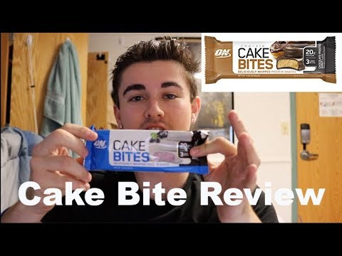 optimum-nutrition-cake-bite-product-review-part-#2-|-blueberry-cheesecake-chocolate-frosted-donut