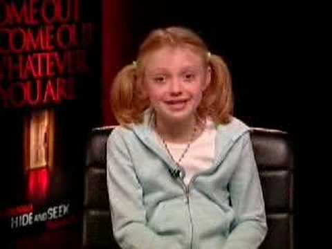 Dakota Fanning Hide and Seek Interview