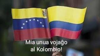 Mia unua vojaĝo al Kolombio 🇨🇴🇻🇪