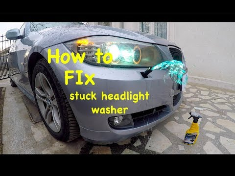 NEW BMW LCI F25 HEADLIGHT WASHER JET COVERS SET PAINTED BY YOUR COLOUR CODE