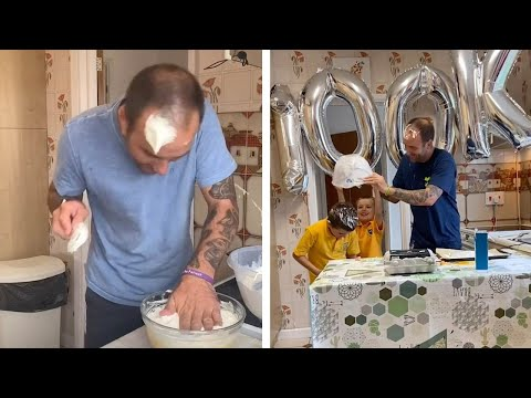 Dad With Tourettes Becomes A Viral Sensation