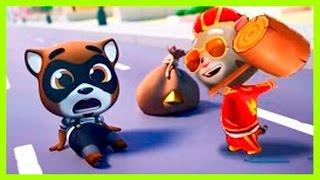 КОТ ТОМ ЗА ЗОЛОТОМ #20. ГОВОРЯЩИЙ ТОМ АНДЖЕЛА И ДРУЗЬЯ - мультик игра видео для детей.