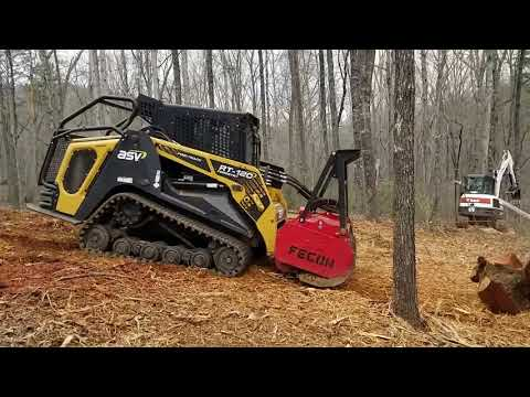 Forestry Mulching Cabin Site