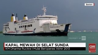 Download Video Kapal Mewah di Selat Sunda, KM Dharma Rucitra MP3 3GP MP4