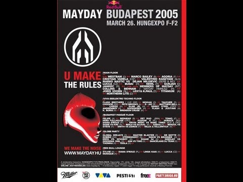 Mayday Budapest 2005.03.26. (Hungary,Hungexpo F-F2) /VHS/