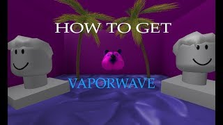 [ROBLOX TUTORIALS] How to get vaporwave doge [RT №15]
