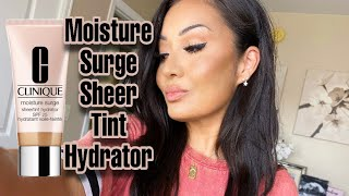 New! Clinique Moisture Surge Sheer Tint Hydrator First Impressions