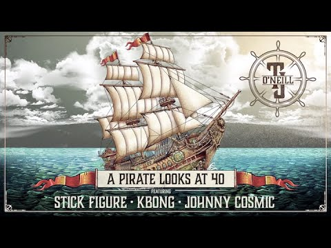 """Stick Figure - """"A Pirate Looks at 40"""" (Reggae Version) [with TJ O'Neill, KBong & Johnny Cosmic]"""