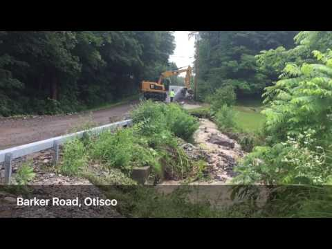 Roads flood, erode in southern Onondaga County