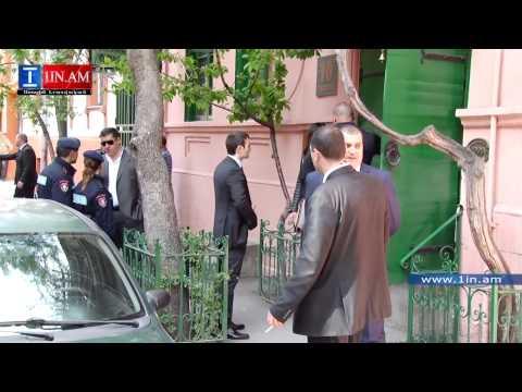Kim Kardashian Had Lunch In Downtown Yerevan - Armenia, April 12, 2015
