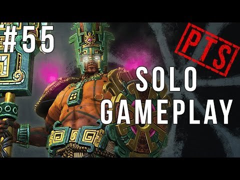 Smite PTS Solo #55: Chaac Gameplay