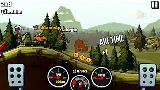 Hill Climb Racing 2 Android Gameplay JEEP Level 18