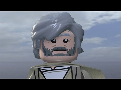 """Lego Star Wars: The Force Awakens"" Epilogue: Luke's Island (Credits & Gag Reel Included!)"