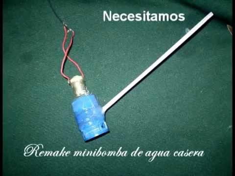 Minibomba de agua casera caseiro gua mini - Bomba de agua sumergible ...