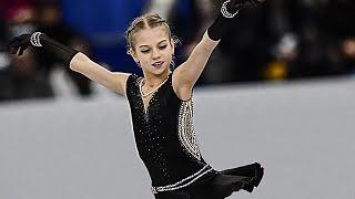 Alexandra Trusova World Junior Championships 2018 SP