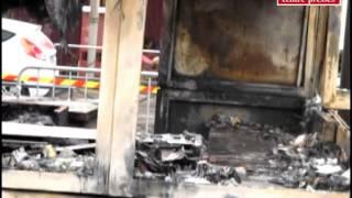 VIDEO. Châtellerault : des incendies causent de gros dégâts