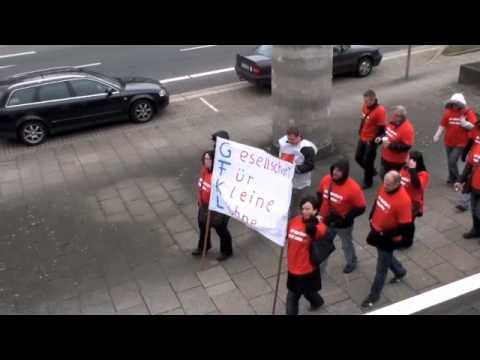 Streikaktion Bei Gfkl Sirius Inkasso Becker Streik On Tour