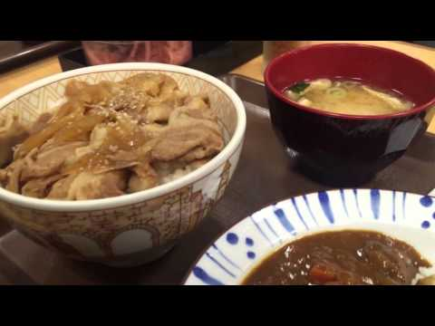 Japanese Street Foods and Restaurants Full HD - Tagoyaki - Curry Rice - Udon - 7-Eleven - Mixed