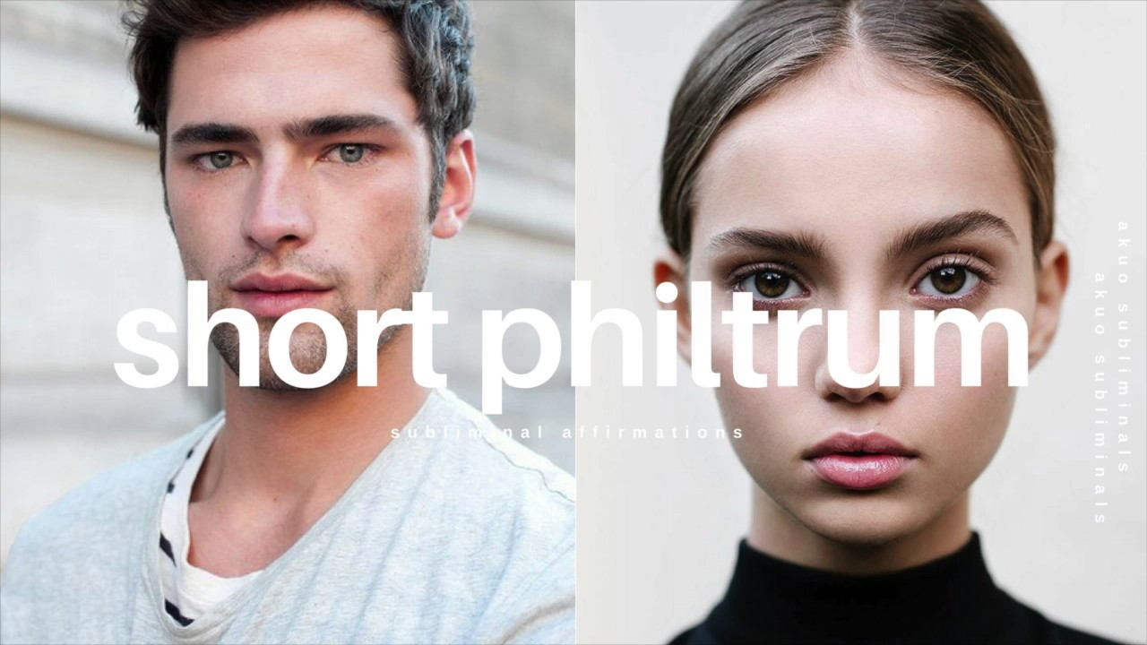 Get a Shorter Philtrum Subliminal | Space Between Nose & Mouth