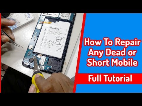 How To Repair Any Dead or Short Mobile | Dead Mobile Phone R