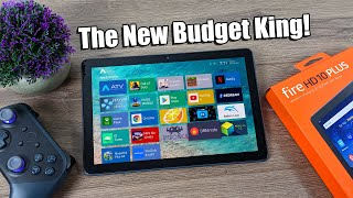 The New Budget King! 2021 Fire HD 10 Plus Review