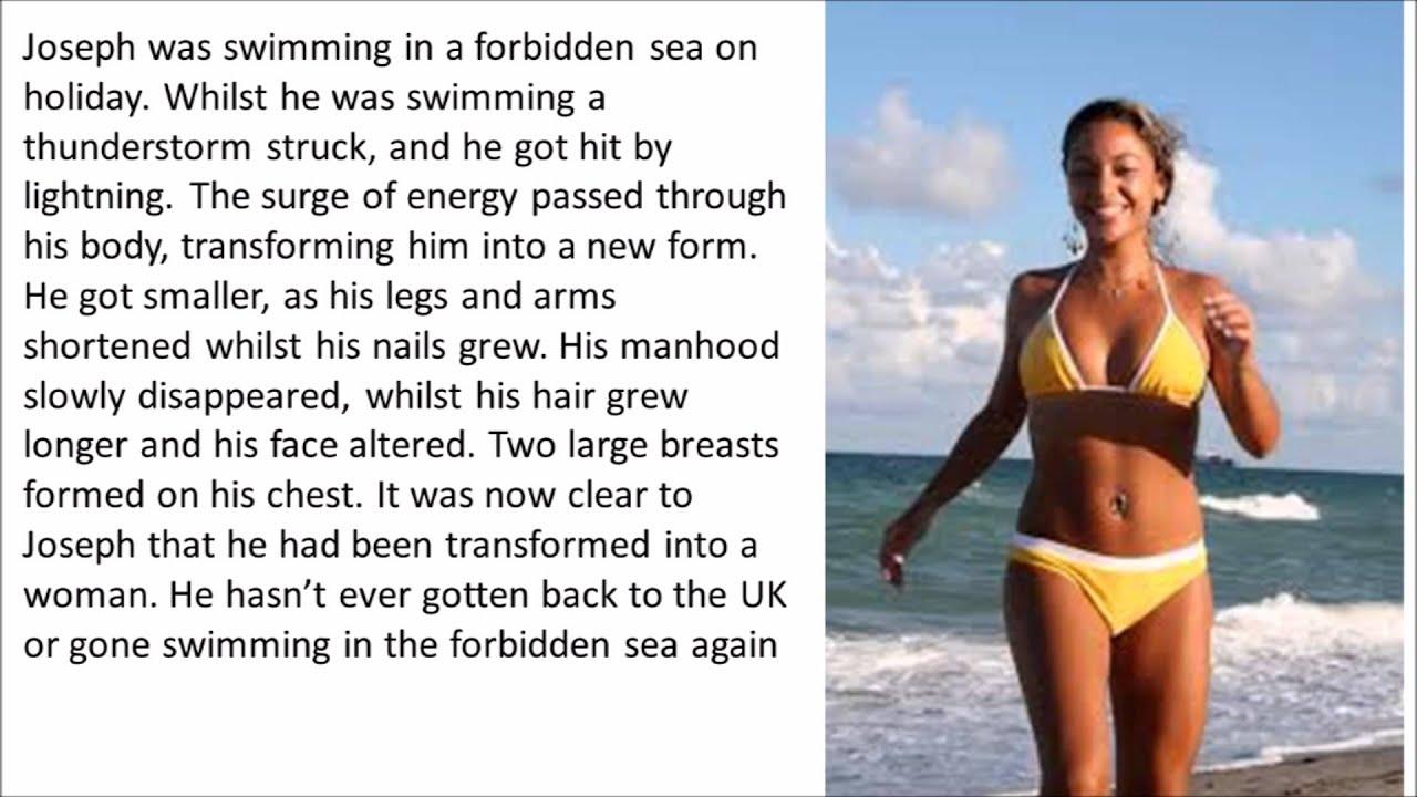 stories Bikini beach tg
