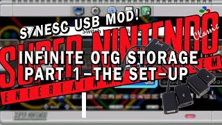 SNES Classic USB mod | Part 1 - The Set-up | USER-FRIENDLY!
