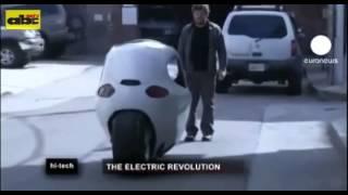 Pretenden lanzar novedoso vehículo eléctrico de dos ruedas