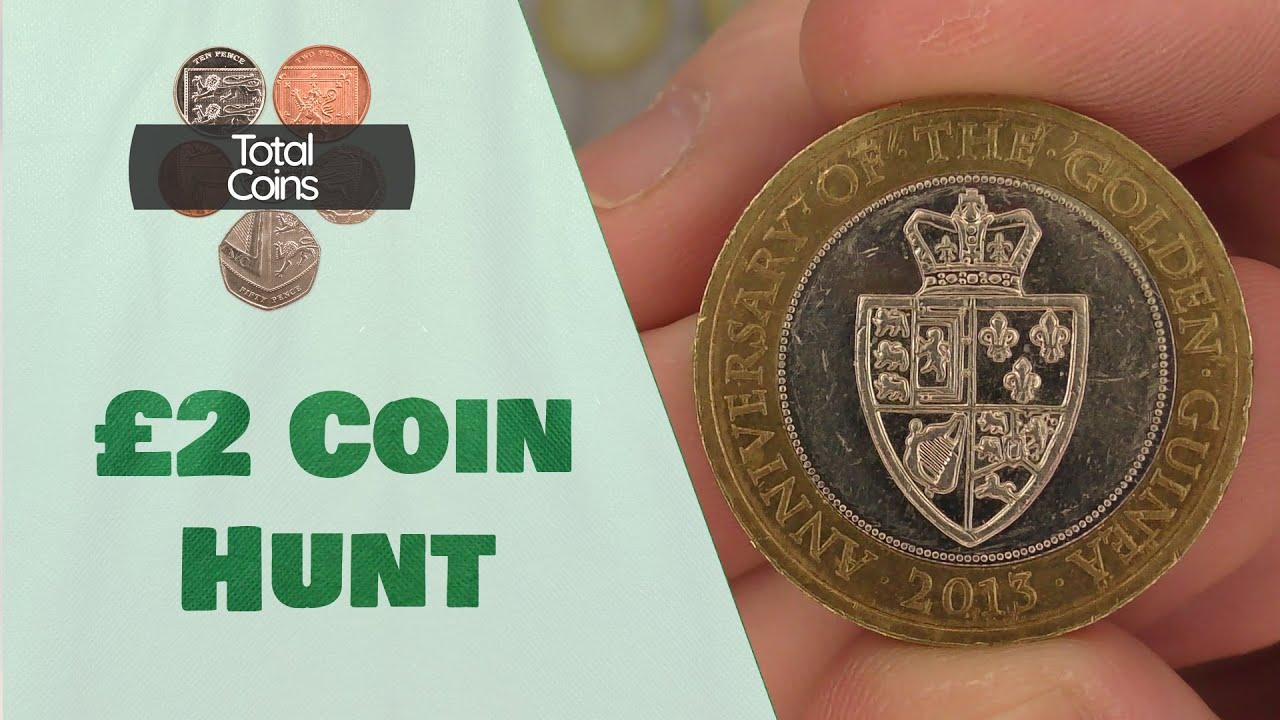 A Golden Find - £2 Coin Hunt