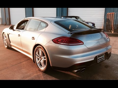 SOUND: 2016 Porsche Panamera Turbo Exhaust /Start Up /Short Drive