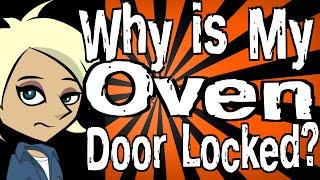 why is my oven door locked