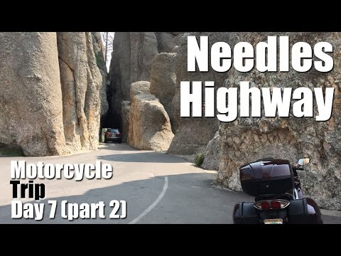 Needles Highway & Custer State Park | Motorcycle Trip 2016 | Day 7 Part 2