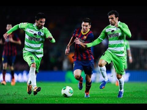 Barcelona Vs Leon 6-0 ~ All Goals and Full Match Gamper Cup ~ 18/08/2014