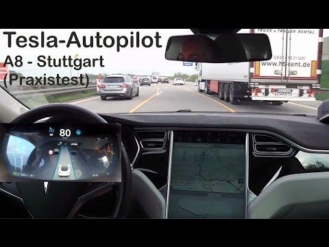 Tesla Model S - Autopilot in Stuttgart - (Praxistest) | OHNE Orange!