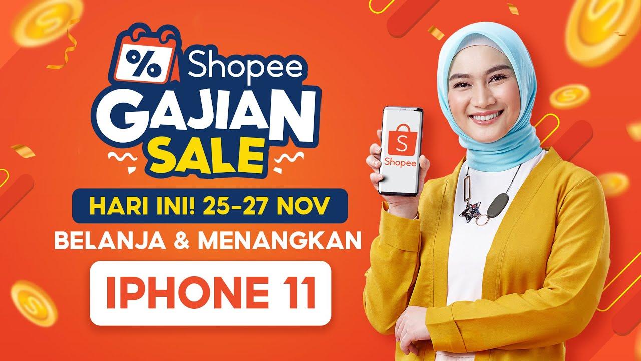 Shopee Gajian Sale | HARI INI! Dapatkan Cashback Kilat s/d 250RB!