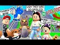 I SPENT ALL MY ROBUX and BOUGHT MY SPOILED KID'S ALL THE NEW GIFTS in ADOPT ME! - Roblox