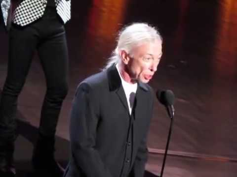 2018 Rock & Roll Hall of Fame THE CARS Complete Induction Speech