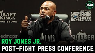 "Roy Jones Jr. reacts to Mike Tyson fight: ""Everything he hit me with hurt"""