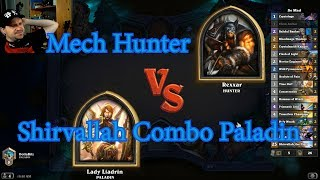Shirvallah Combo Paladin vs Mech Hunter | Hearthstone