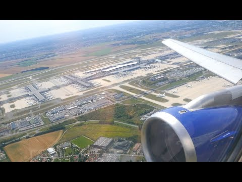 (4K) British Airways A320 Club Europe | Paris CDG to Heathrow | Flight Video - BA315