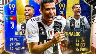FIFA 19: TOTS RONALDO vs. TOTY RONALDO Squad Builder Battle 🔥🔥