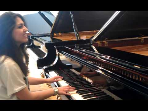 At last - Etta James ( Piano Fischer ) [cover Natalija]
