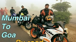 Mumbai To Goa | Pulsar Rs200, KTM RC/duke 390