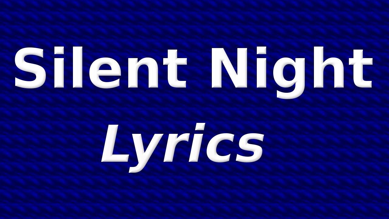 Silent Night, Holy Night - Christmas Carol Song with Lyrics | QPT