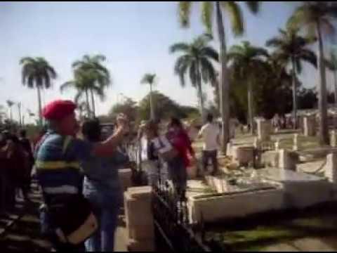 Radio Sancti Spíritus rinde tributo a Fidel en Santa Ifigenia