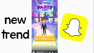 NEW Snapchat Bitmoji PARTY Game - How To Play & Tutorial