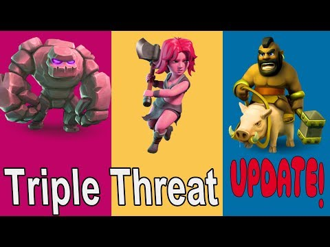 GOVAHO Triple Threat Event New Update Clash of Clans Gem Collection Day Khmer Gamer|VPROGAME